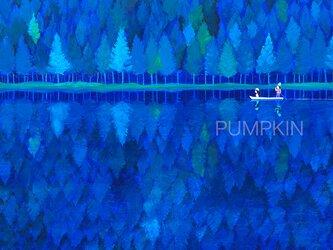 森の奏(かなで)  PA-A4-016  アクリル画 メルヘンアート フェアリー 森の精の画像