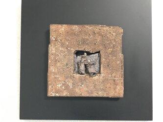 雛[陶額]の画像