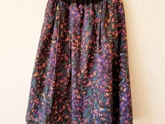 タック&ギャザー スカート*リアル ビオラの画像