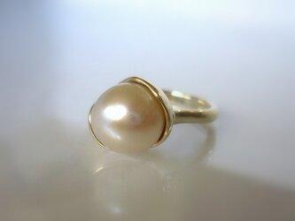 マベパールのK10の指輪の画像
