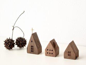小さな木の家 ー教会64ーの画像
