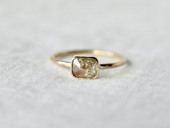 Desert flower diamond ringの画像