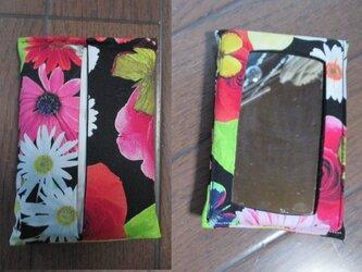 p2 鏡付ポケット ティッシュケース(カバー)の画像