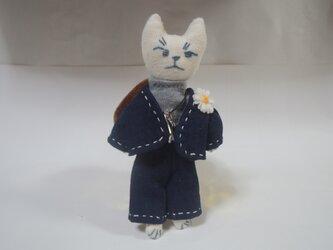 お洒落な猫のストラップ その5の画像