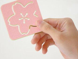 桜コースターの画像