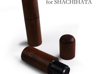 シャチハタ ネーム9 専用 特注木製カバーの画像