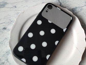 【一点モノ】iPhoneXR*ドット 水玉 iPhoneケース スマホケース iPhone11pro iPhoneXSの画像