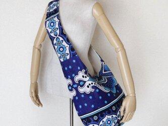 アフリカ布のショルダーバッグ   アラベスクの画像