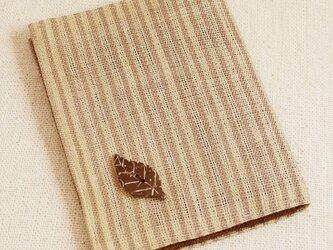 ティッシュ&マスクケース【木の葉ベージュ】の画像
