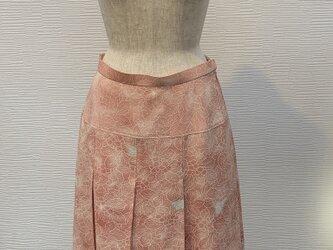 タックスカート(着物リメイク)の画像