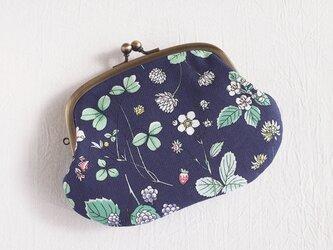 春の花柄親子がま口(お財布)マチなしタイプの画像