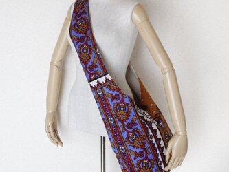 アフリカ布のショルダーバッグ   テズヒップの画像