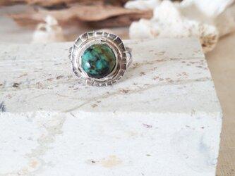 【14号】turquoise ring silver925の画像