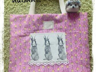 レッスンバッグ(ウサギ)の画像