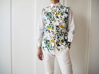 For Men !!ボタニカル柄のメンズシャツの画像