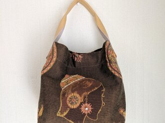 Brown totebag(a)の画像