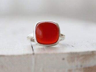 プチトマト風味のカーネリアン ringの画像