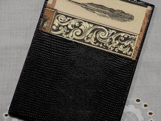 ★お名前入り★ 台付きmy メモ帳(Мサイズ)  ステーショナリー4 羽根ペンの画像