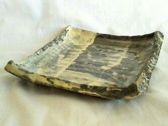 N-151 刷毛目正方皿の画像