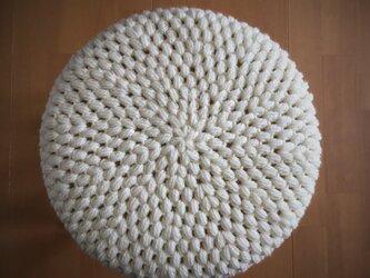 【色選べます】丸椅子カバー厚み2cm用【受注製作】の画像