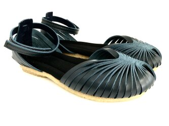 STRAP sandals #natural leather #受注製作 #天然素材の画像