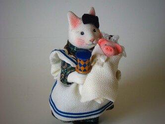 縮緬福猫 アリス猫 その二の画像