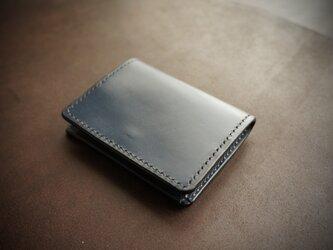 【受注製作】ボックス型コインケース(UKブライドル)の画像