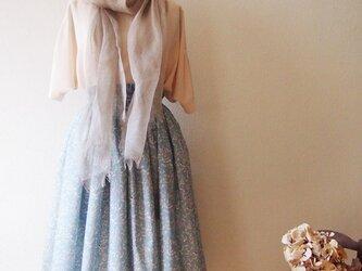 2020春夏新作 Liberty:Glimmer チュチュみたいなギャザースカート(ロング丈)の画像