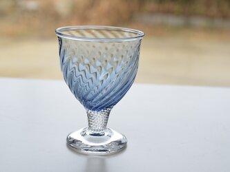 藍色のモールグラスの画像
