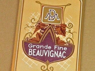 1枚/ Vintage ラベル Vol. 6(Grande Fine BEAUVIGNAC)DA-LA006の画像