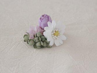 花束の片耳イヤリング 2の画像