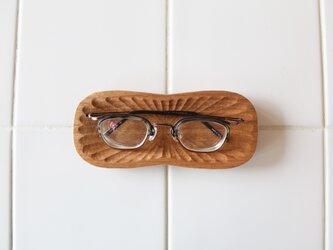 メガネ皿 胡桃3の画像