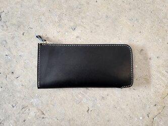 L字ファスナー財布【受注生産】の画像