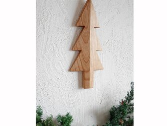 もみの木の壁飾り Mサイズ(アルダー材)の画像