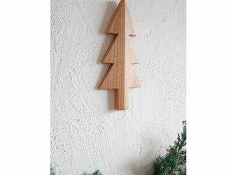 もみの木の壁飾り Sサイズ(アルダー材)の画像