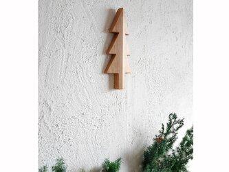 もみの木の壁飾り SSサイズ(アルダー材)の画像