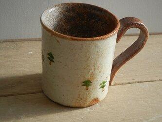 百色(ももいろ)象嵌 マグカップ 木々の画像