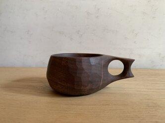 ブラックウォルナットのマグカップ #2の画像