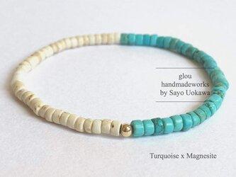【勇気】Turquoise x Magnesiteの画像