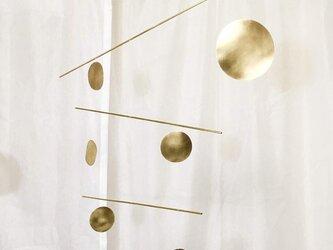 モビール 丸と線 GOLDの画像