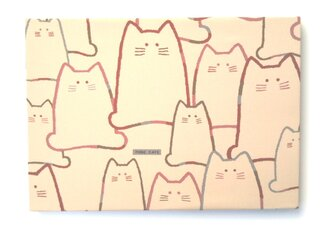 愛くるしいネコ アートパネルの画像