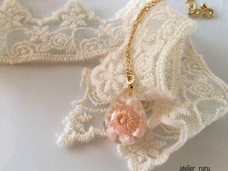 ネックレス お花*の雫の画像