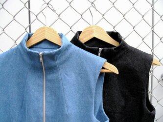 ⑩-2 la jean robe[ブラック]の画像
