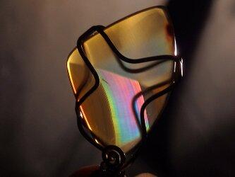 ~虹を閉じ込めた石~ イリスアゲートのペンダント の画像