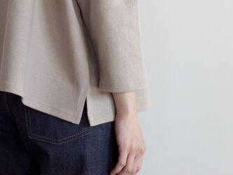 big basque shirt/ash grayの画像