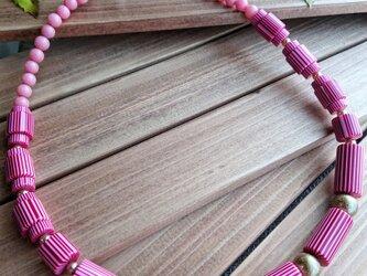 SA・KU・RA       (ヴィンテージビーズのネックレス)の画像