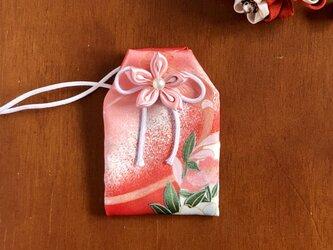 (真朱花)元巫女の花のお守り袋の画像
