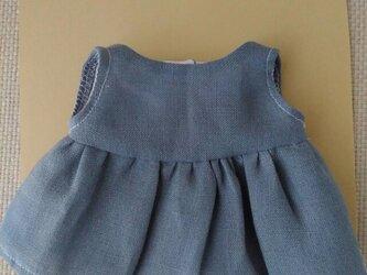 sokko's Dress ブルーグレーのワンピースの画像