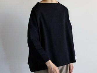 big basque shirt/blackの画像