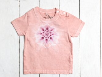 手染めキッズTシャツ 80  chakra フラミンゴの画像